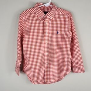 Ralph Lauren | Boy's Checkered Button Down Shirt